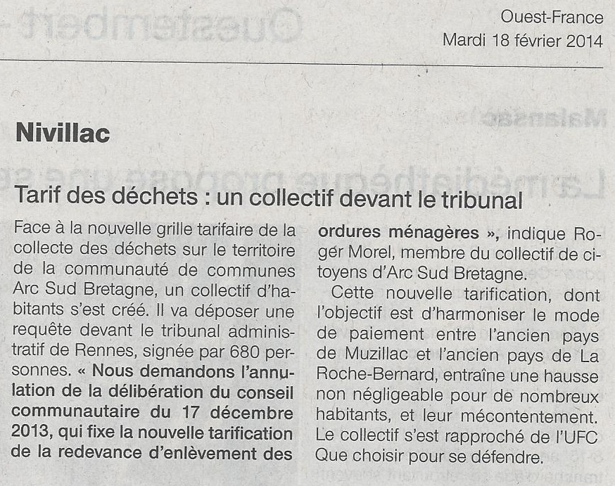 2014 02 18 of tarif dechets collectif t a